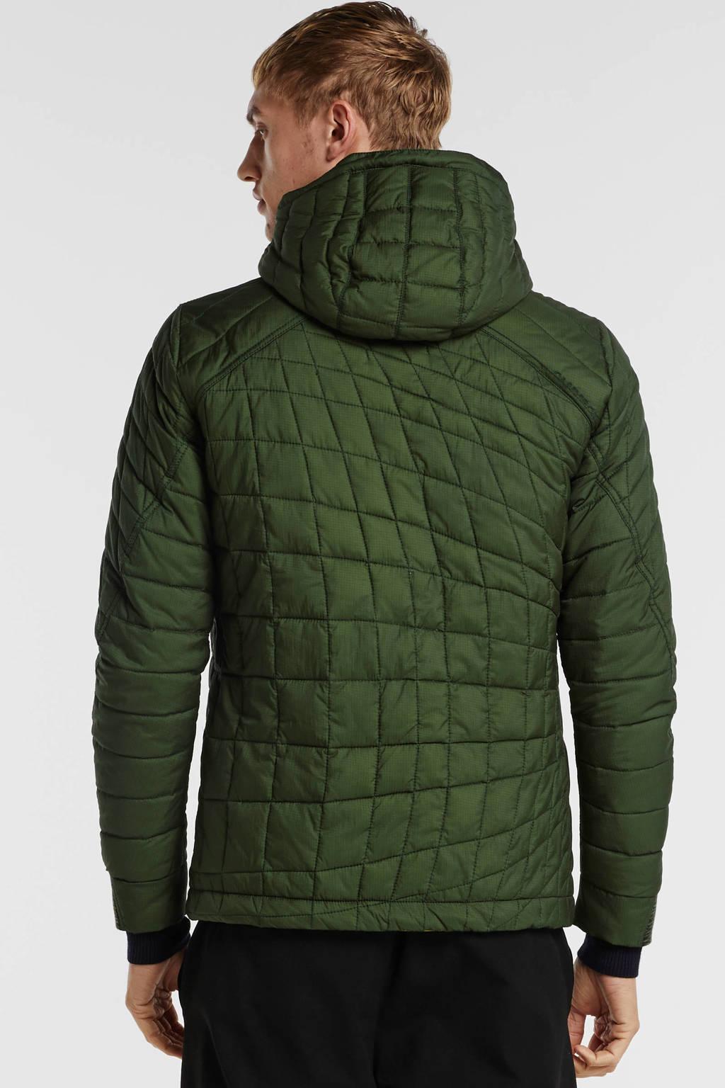 Cast Iron tussenjas groen, Groen