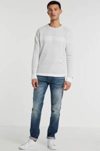Cast Iron sweater met all over print lichtgrijs, Lichtgrijs