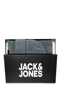 JACK & JONES JUNIOR muts en sjaal grijs giftbox, Grijs