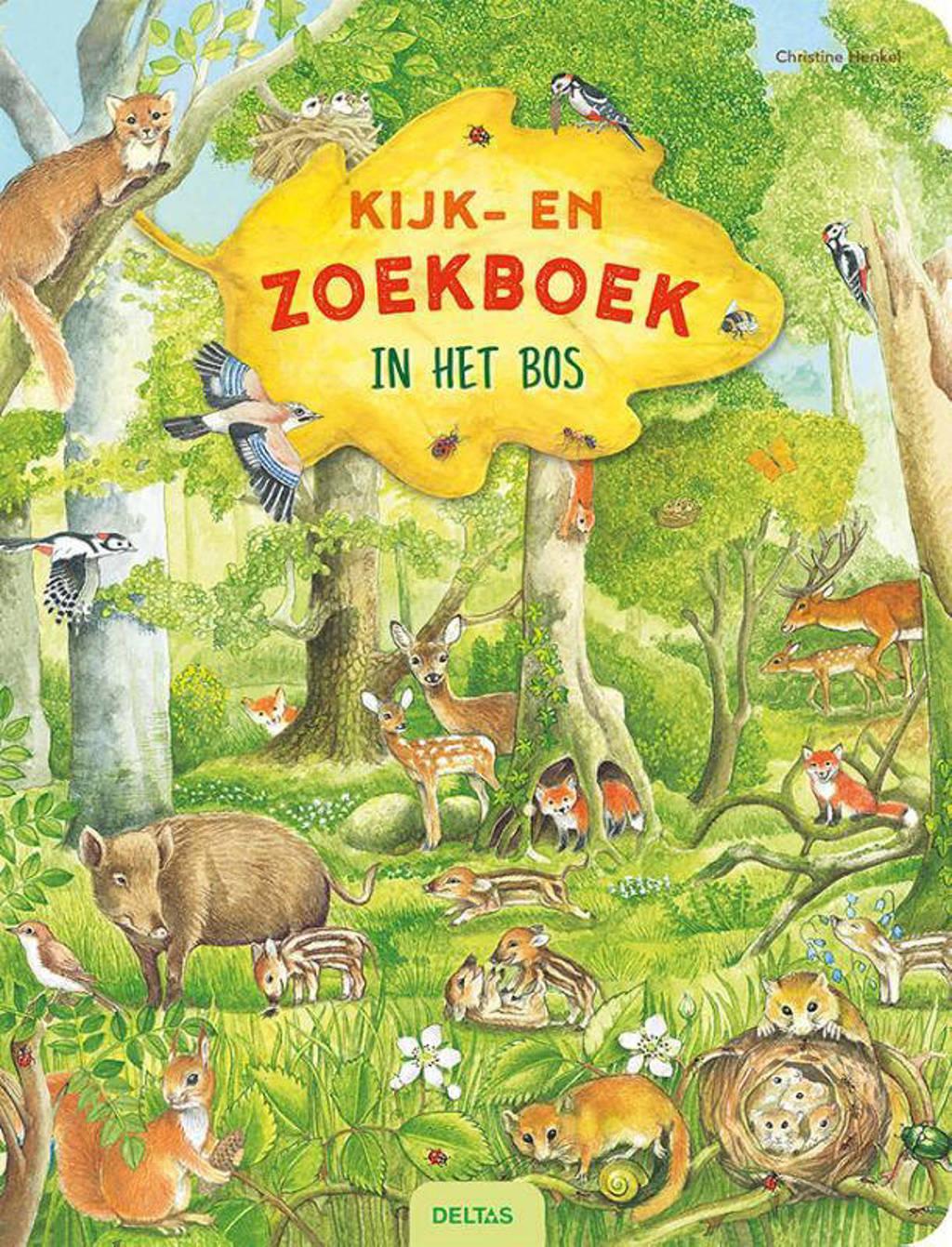 Kijk- en zoekboek: In het bos