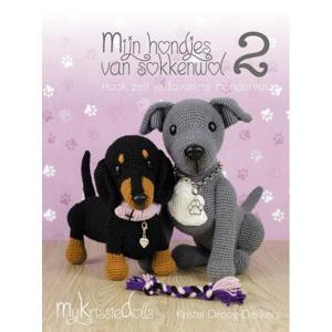 Mijn hondjes van sokkenwol 2 - Kristel Droog-Dekkers