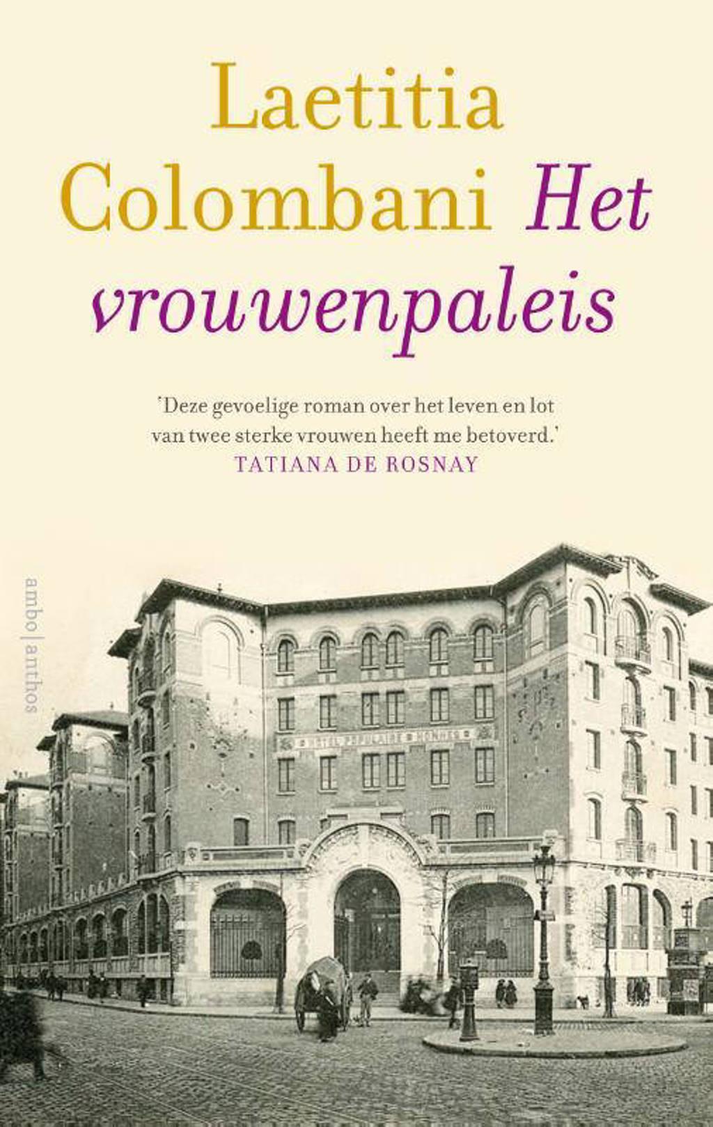 Het vrouwenpaleis - Laetitia Colombani