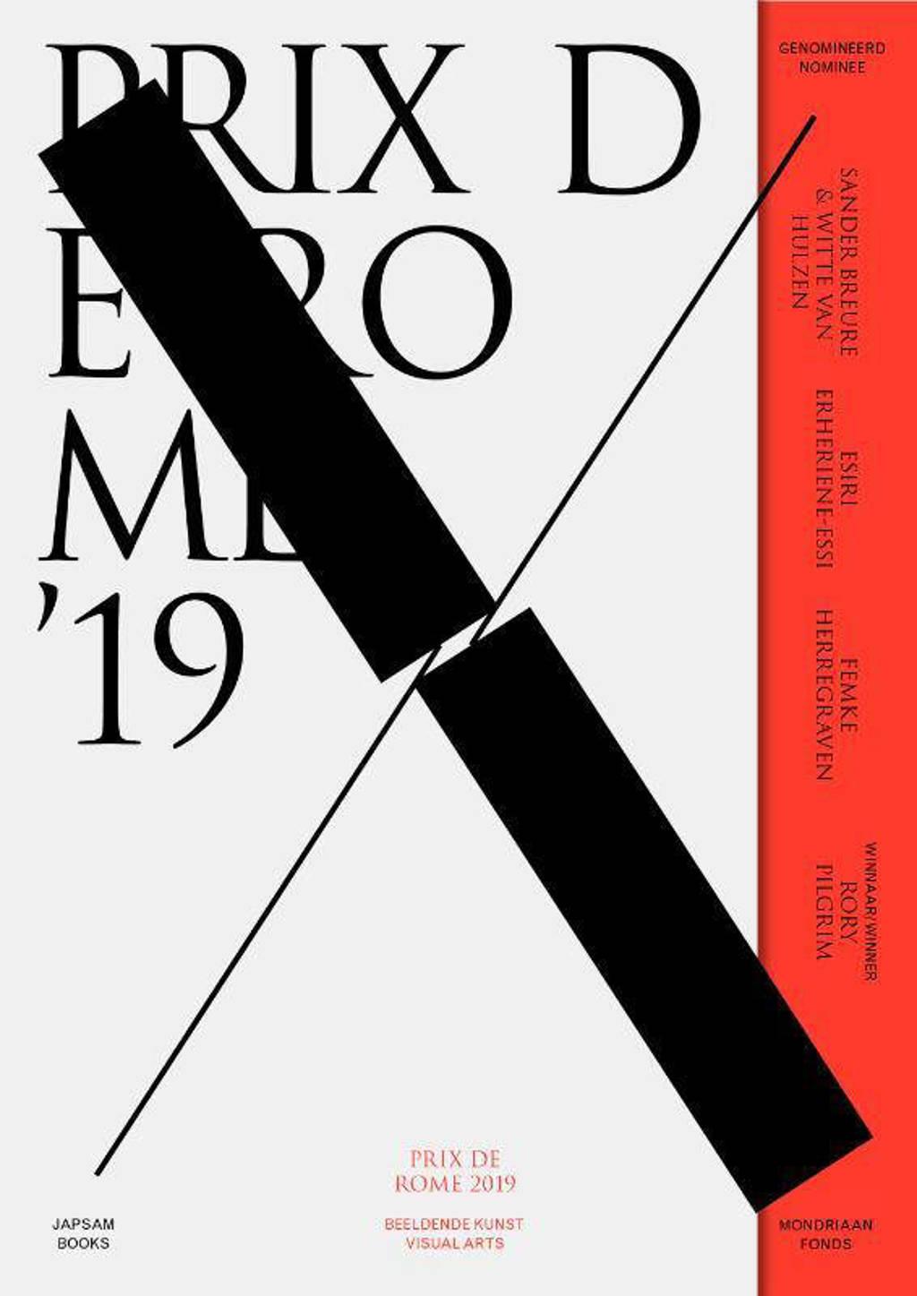 Prix de Rome: Prix de Rome 2019. Beeldende Kunst / Visual Arts