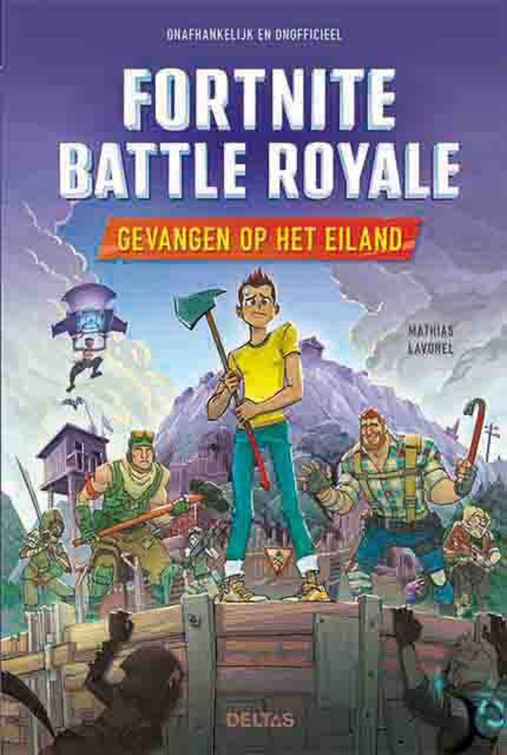 Fortnite Battle Royale: Gevangen op het eiland - Mathias Lavorel