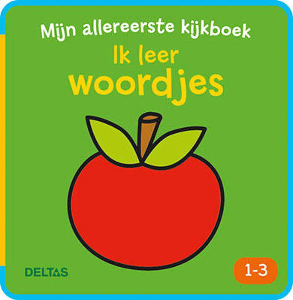 Mijn allereerste kijkboek Ik leer woordjes 1-3 - ZNU
