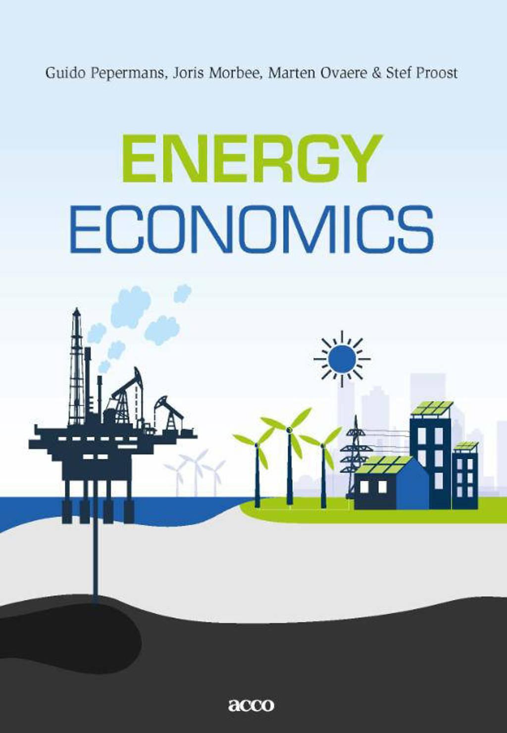 Energy Economics - Guido Pepermans, Joris Morbee, Marten Ovaere, e.a.