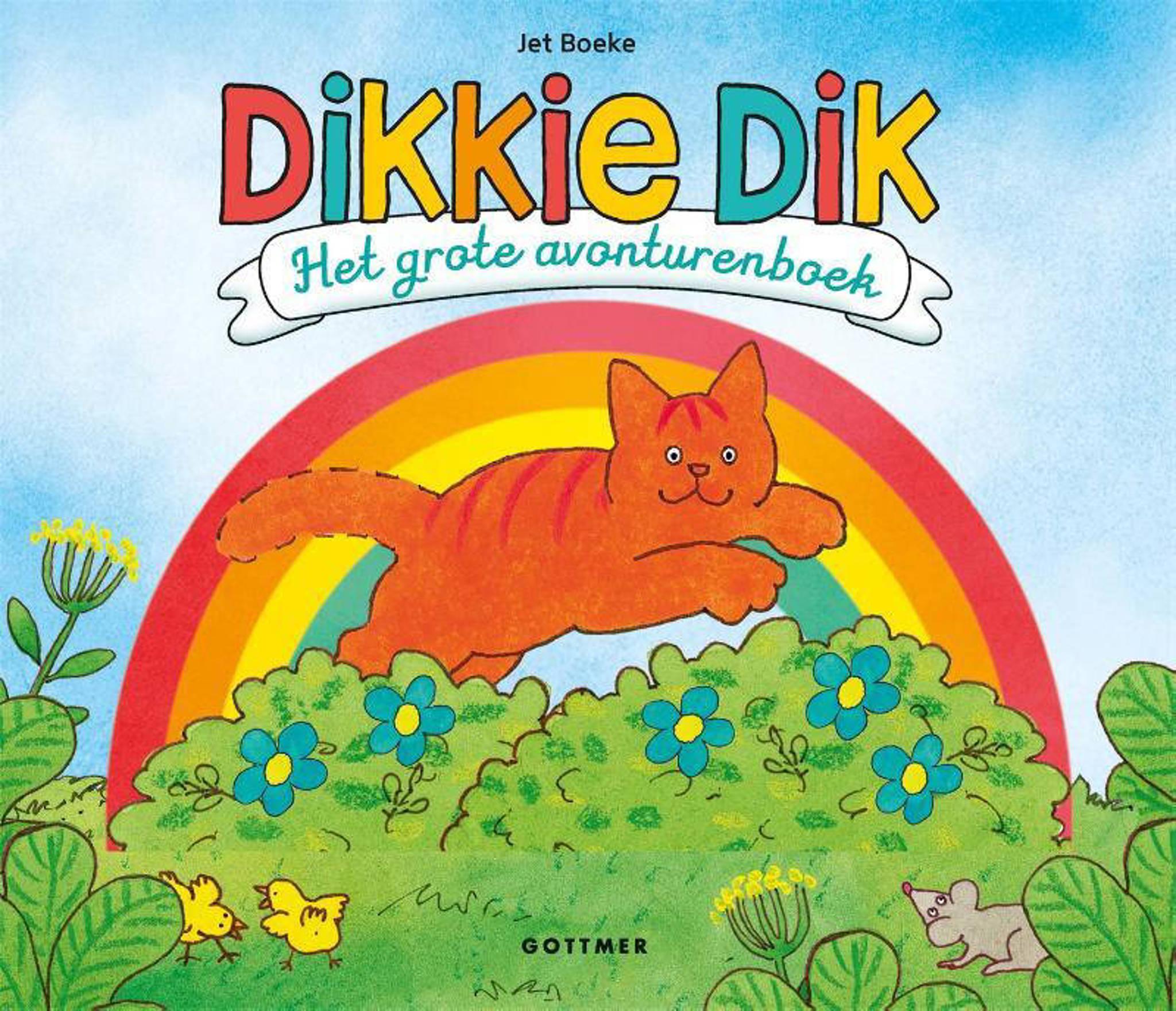 Rode Kater Zitzak.Jet Boeke Dikkie Dik Het Grote Avonturenboek Wehkamp