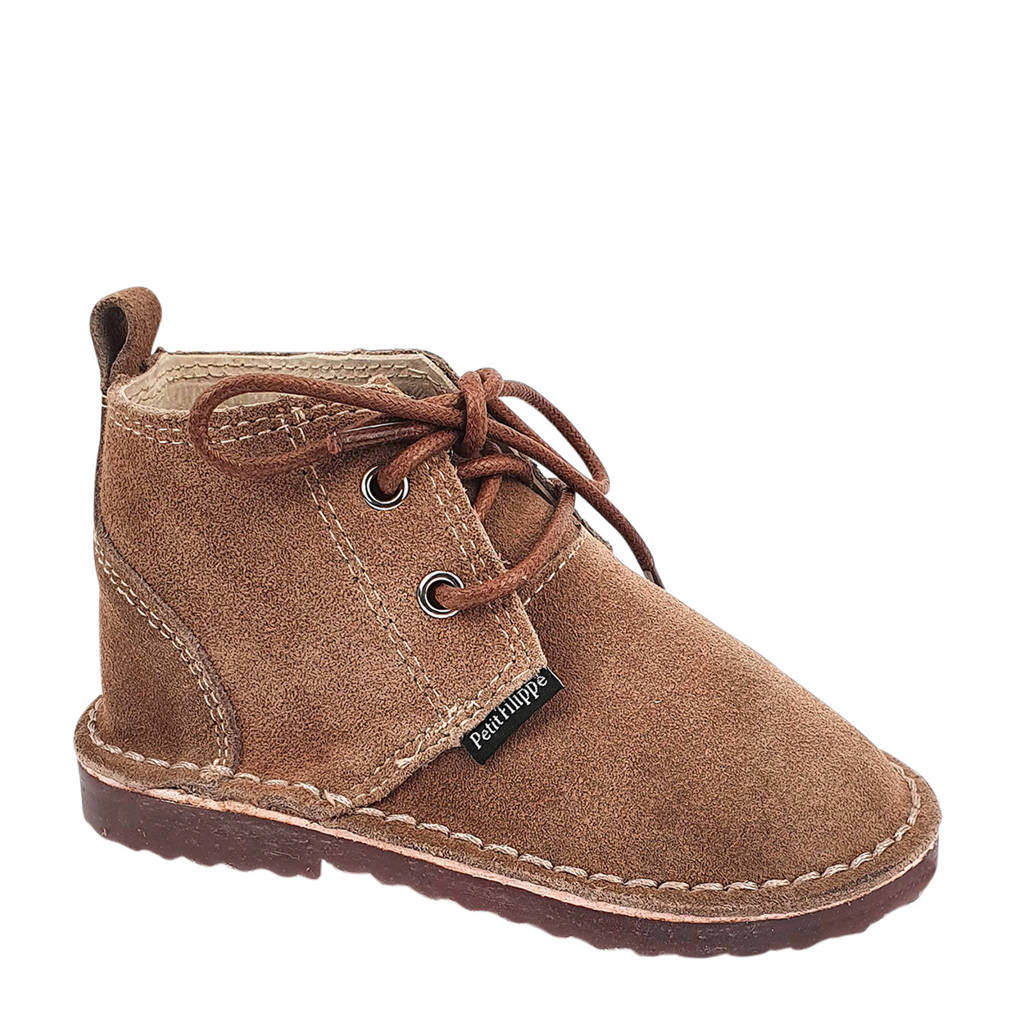 Petit Filippe   suède desert boots taupe, Taupe
