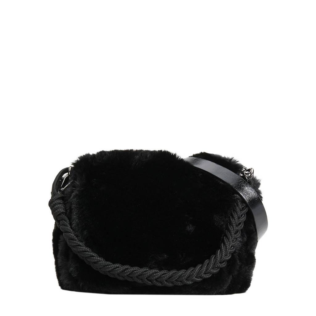 Parfois   crossbody tas zwart, Zwart