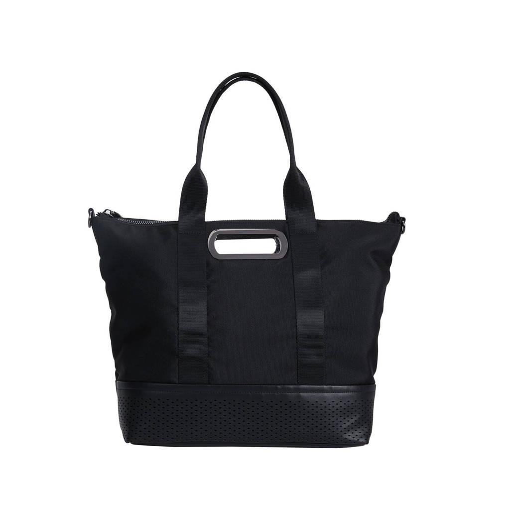 Parfois   shopper zwart, Zwart
