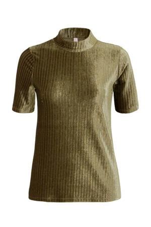 Regulier T-shirt groen
