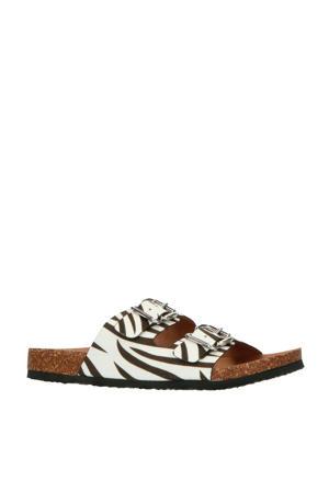 slippers zebraprint