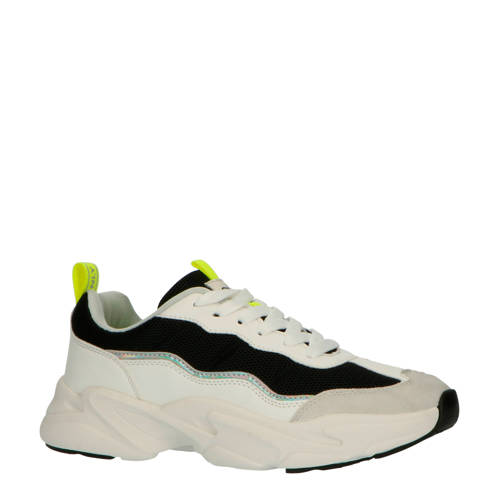 ONLY chunky sneakers wit/zwart