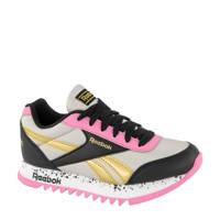 Reebok Royal CL Jog  sneakers roze/zwart, Zwart/roze/goud