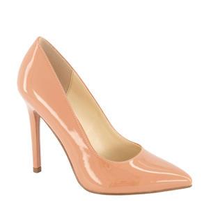 lak pumps roze