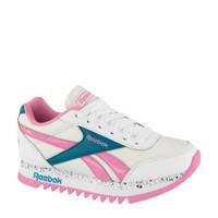 Reebok Royal CL Jog  sneakers roze/wit, Wit/Roze/Petrol