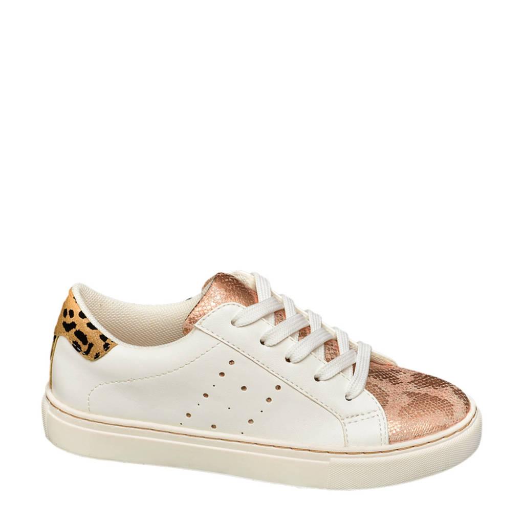 Graceland   sneakers wit/roségoud, Wit/roségoud