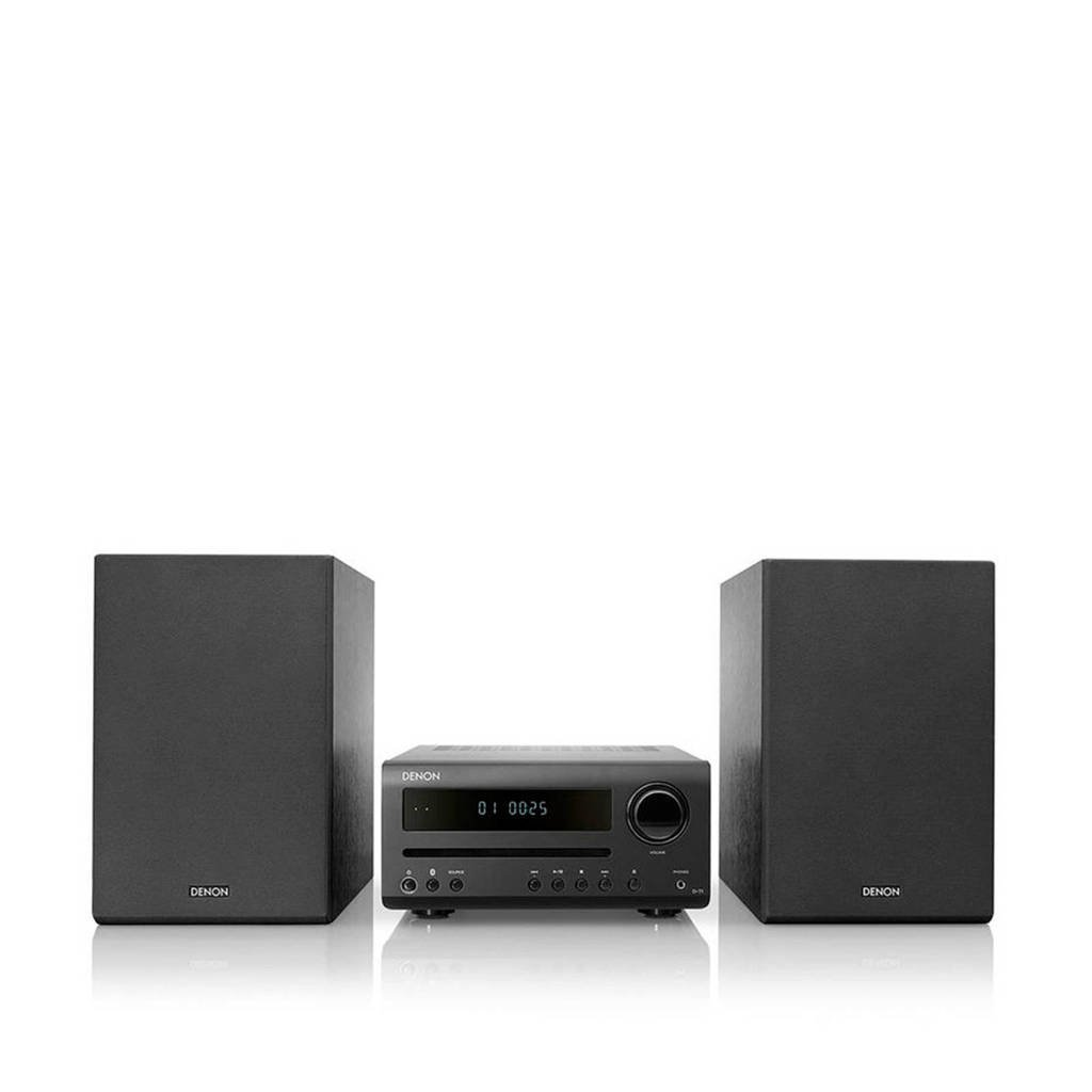 Denon D-T1 Home audio-minisysteem Hifi set, Zwart