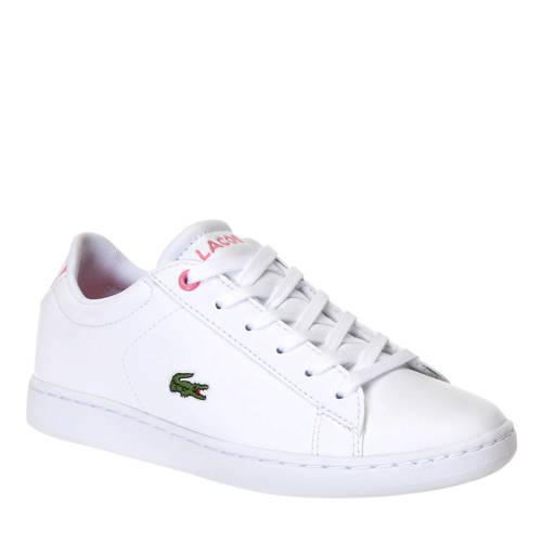 Lacoste Carnaby Evo BL 2 SUC sneakers wit/roze