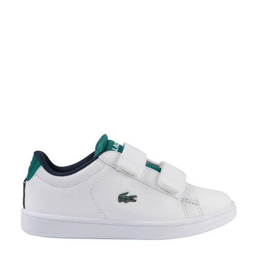 Lacoste Carnaby Evo 120 2 SUI sneakers wit/groen
