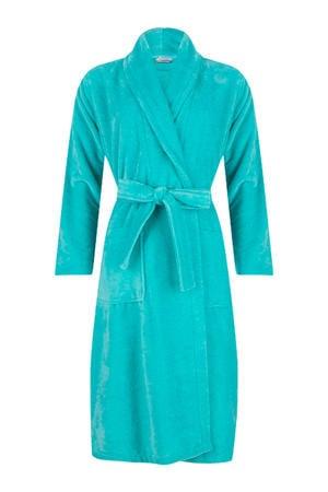 badstof badjas turquoise