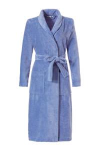Pastunette badstof badjas blauw, Blauw