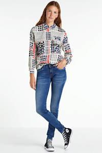 Pepe Jeans skinny jeans Soho blauw, Blauw