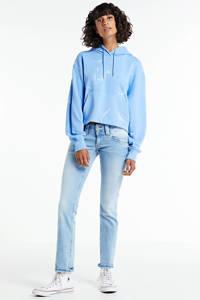 Pepe Jeans straight fit jeans Venus lichtblauw, Lichtblauw