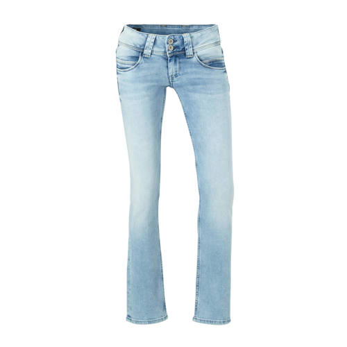 Pepe Jeans straight fit jeans Venus lichtblauw