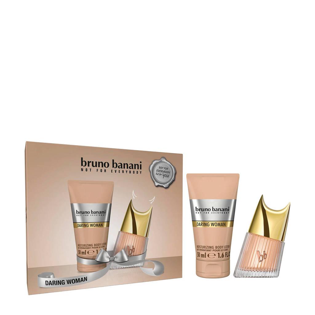 Bruno Banani Daring Woman eau de toilette 20 ml + Bodylotion 50 ml