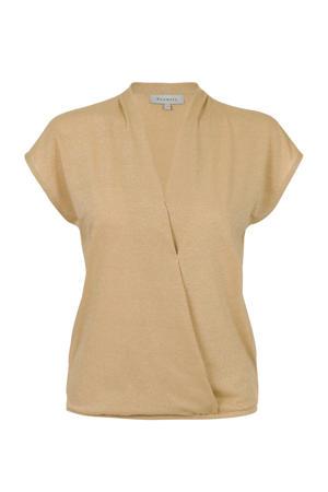 T-shirt goud