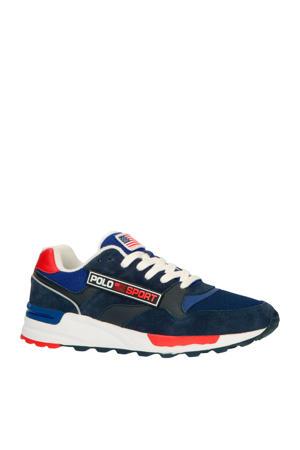 Trkstr Sport  leren sneakers blauw