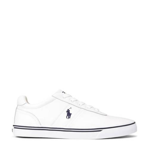 Ralph Lauren Hanford leren sneakers wit