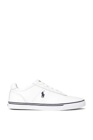 Hanford  leren sneakers wit