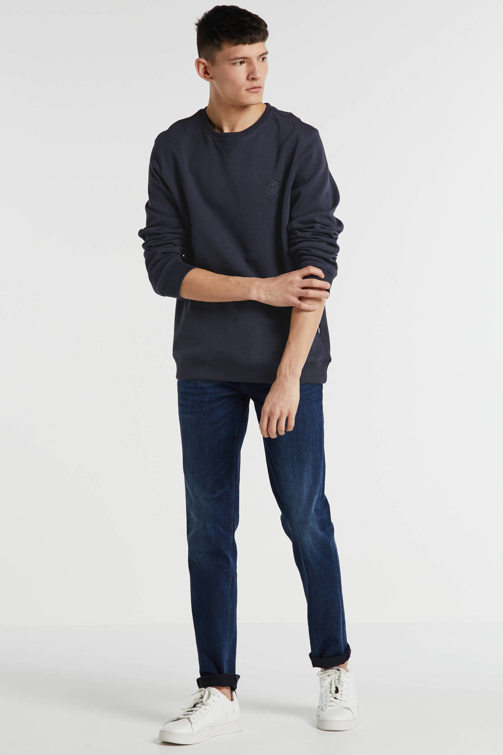 Vanguard slim fit jeans blue black denim