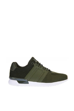 R130 SKT M sneakers olijfgroen