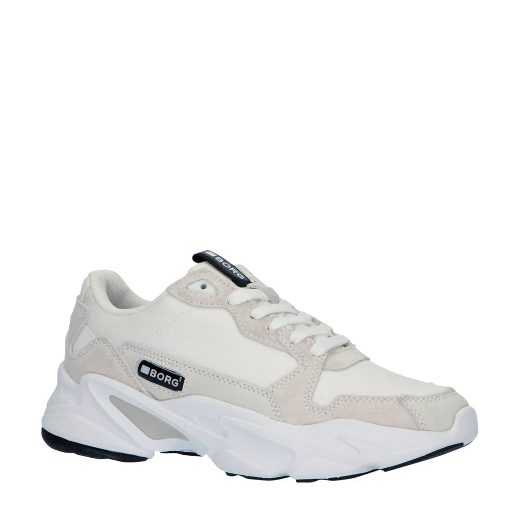 Björn Borg X400 BSC W sneakers wit/off white, Wit/Off white