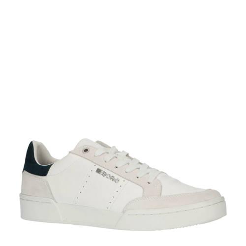 Bj??rn Borg T1316 SPT M leren sneakers wit/blauw