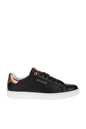 T306  sneakers zwart/roségoud