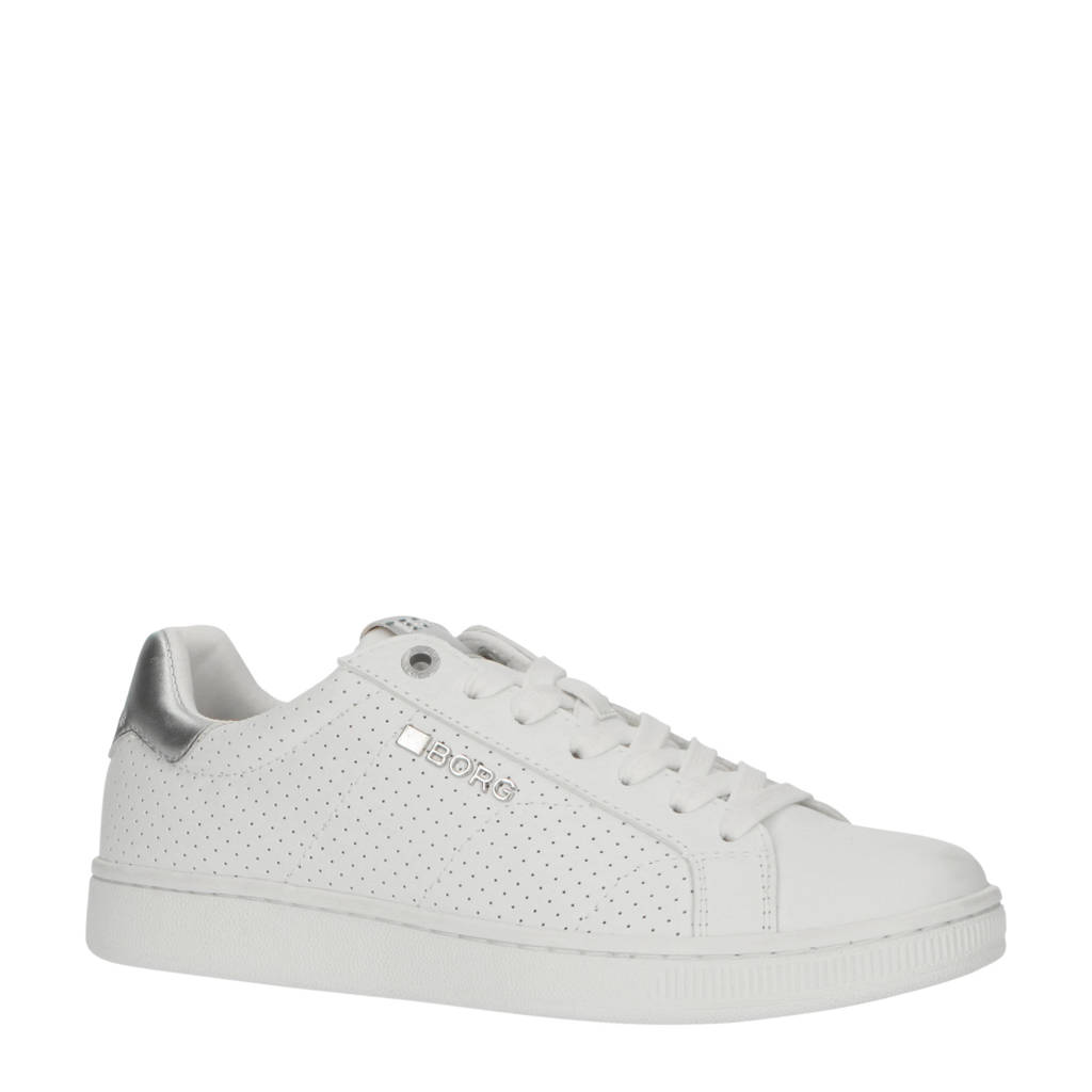 Björn Borg T306 PRF W sneakers wit/zilver, Wit/zilver