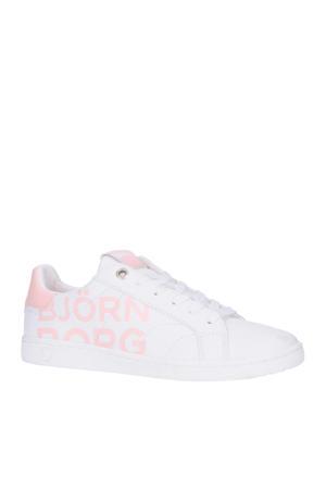 T305 LGO K  sneakers wit/roze