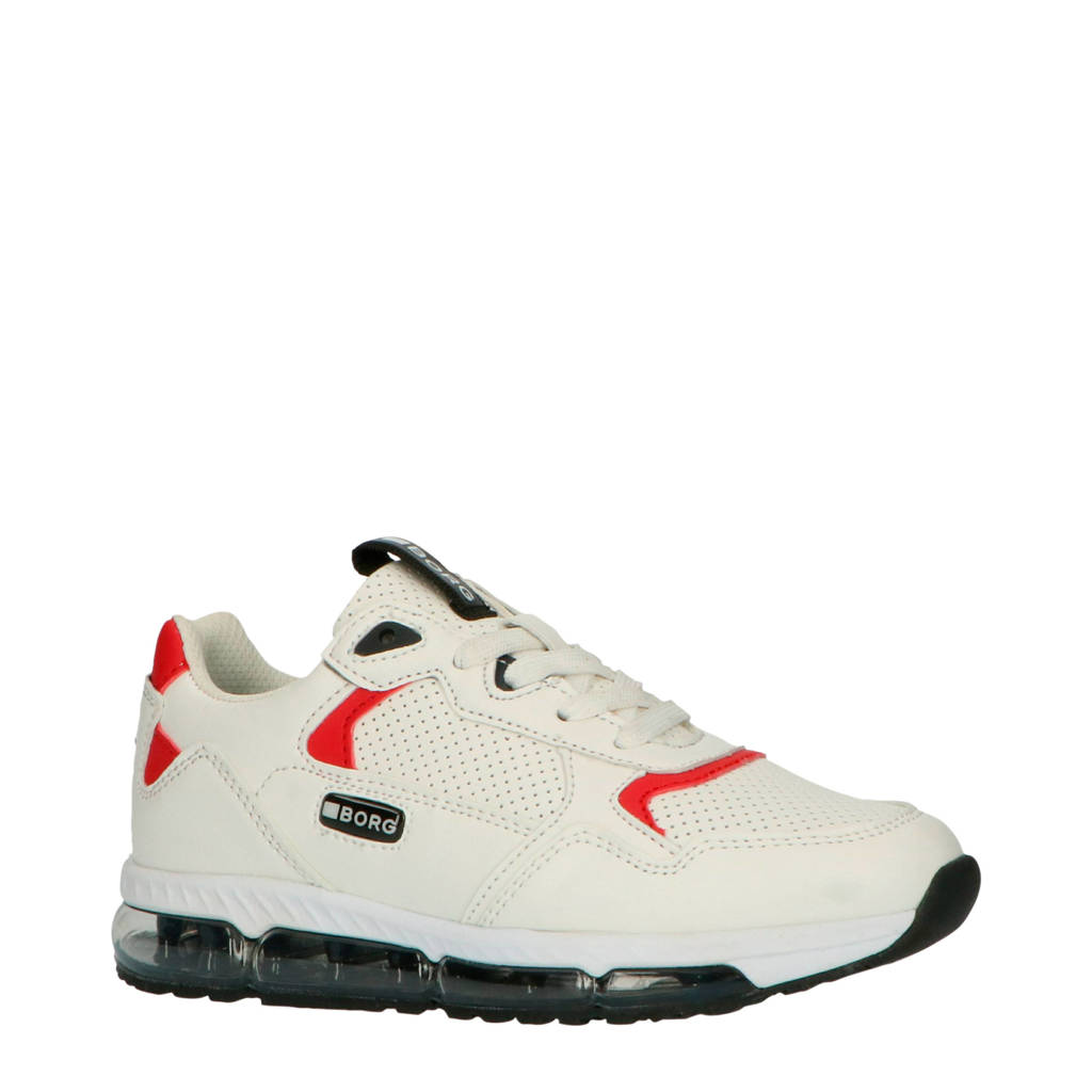 Björn Borg X500  sneakers wit/rood, Wit/rood