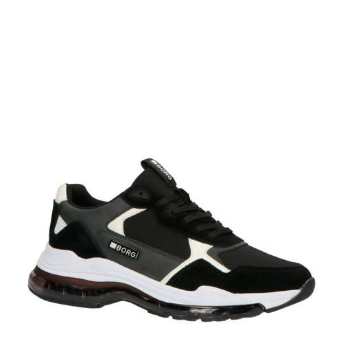 Bj??rn Borg X510 MSH M su??de sneakers zwart/wit