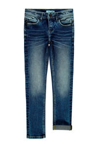 NAME IT KIDS slim fit jeans donkerblauw, Donkerblauw