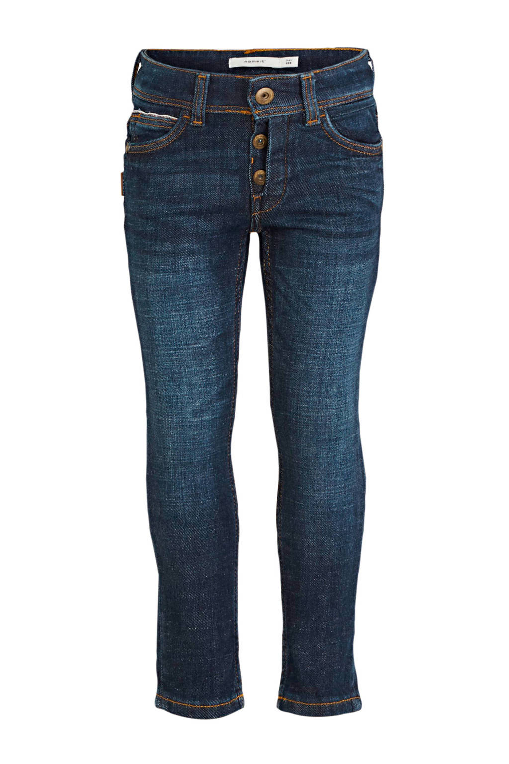 NAME IT MINI slim fit jeans dark denim, Dark denim
