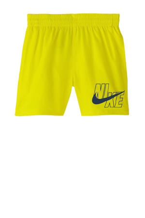 zwemshort neon geel/marine
