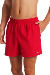 Nike zwemshort Essential rood, Rood