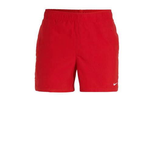 Nike zwemshort Essential rood