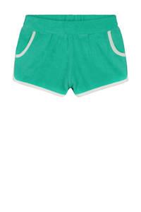 Shiwi strandshort Terry turquoise/wit, Turquoise/wit
