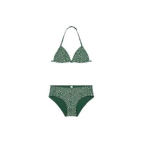 Shiwi triangel bikini Tuvalu met sterren groen//wi